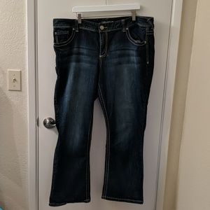 Maurices denim flare jeans